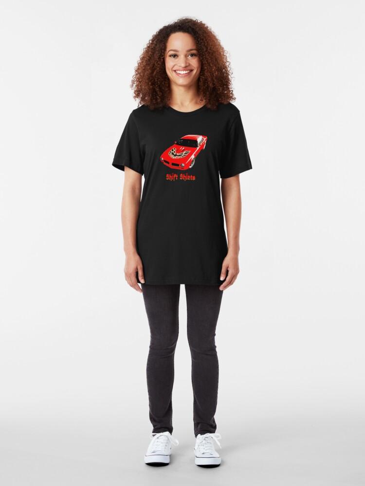 Alternate view of Shift Shirts Thunderous Roar Slim Fit T-Shirt