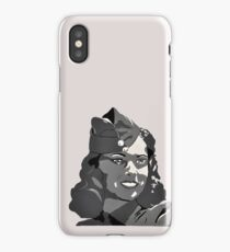 WWII Portrait iPhone Case