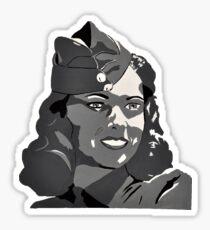 WWII Portrait Sticker