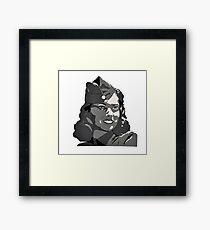 WWII Portrait Framed Print