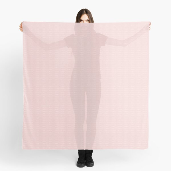 IPA scarf - pink and white Scarf