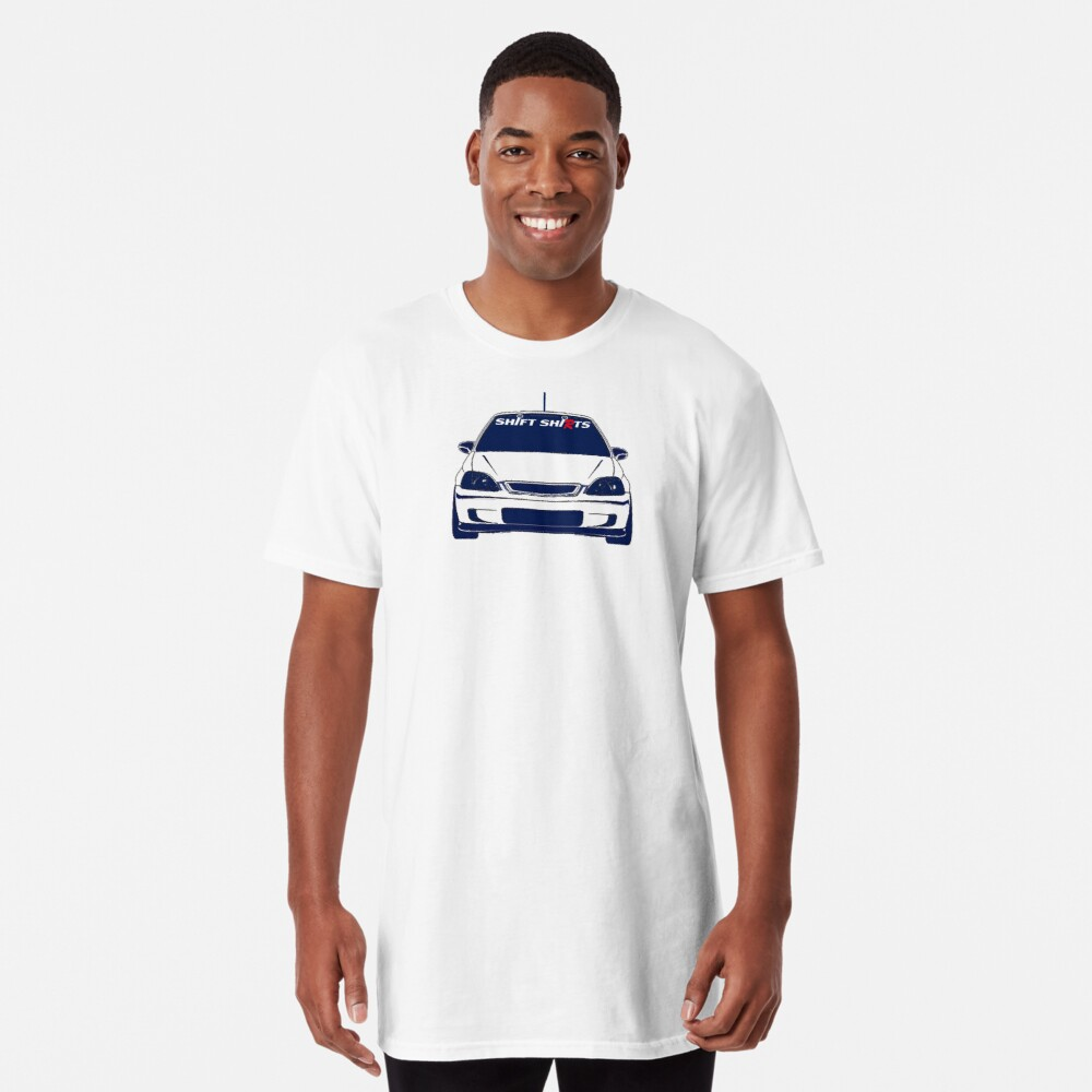Shift Shirts Interchangeable Parts - EK9 Inspired  Long T-Shirt