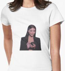 Kim Kardashian  Women's Fitted T-Shirt