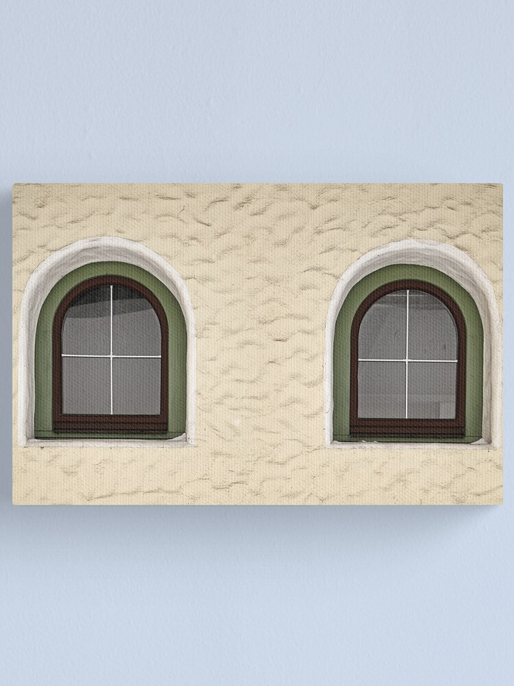 Alternate view of Finkenberg Windows Canvas Print