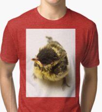 Great Tit Chick Tri-blend T-Shirt