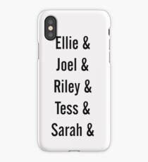 Last Of Us Names iPhone Case
