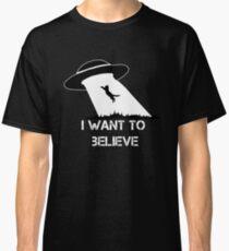 Ich will es glauben - Katzenentführung Classic T-Shirt