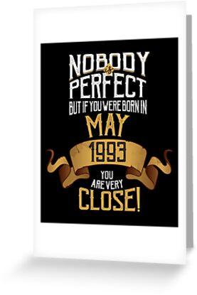 1993 May Birthday Gift