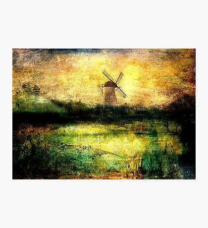 Turning Windmill Photographic Print