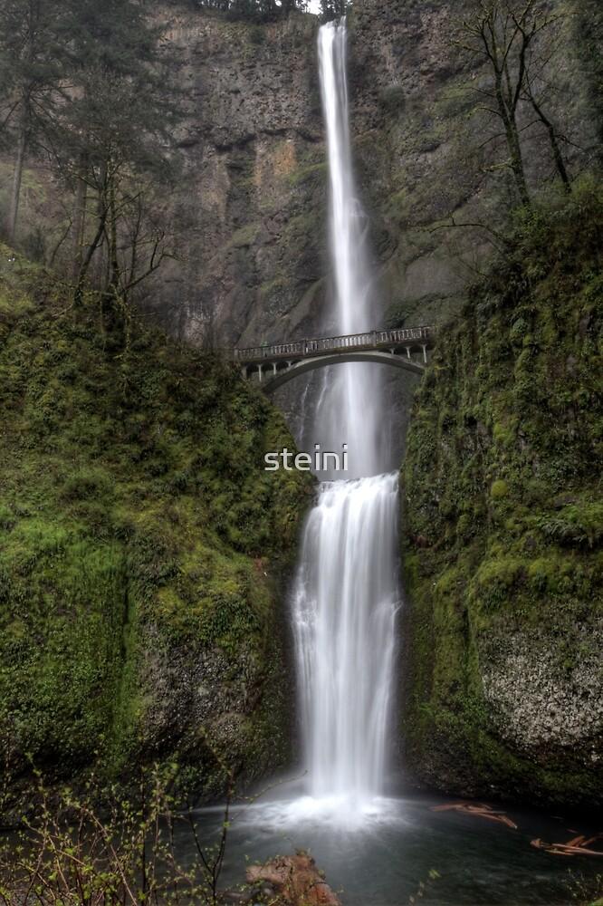 Multnomah Falls by steini