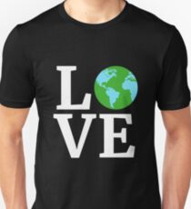I Love Our Planet Climate Change Earth Day 2018 Unisex T-Shirt