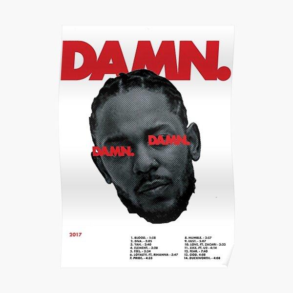 DAMN Kendrick Lamar Poster