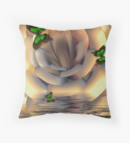 ~ INCENDIA FLOOD ~ Throw Pillow