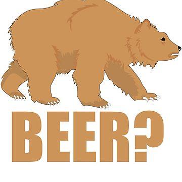Bear Beer, Beer Bear by eFfany
