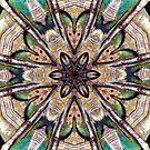 Painter's Pallet Mandala  by DesJardins
