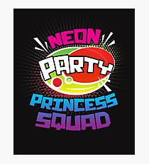Crown Princess Squad Shirt Design Photographic Print