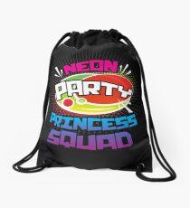 Crown Princess Squad Shirt Design Drawstring Bag