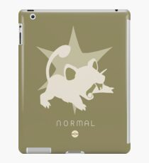 Pokemon Type - Normal iPad Case/Skin