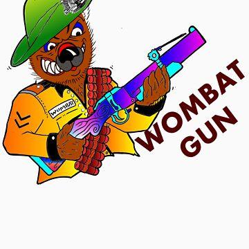 Wombat Gun by tandoor