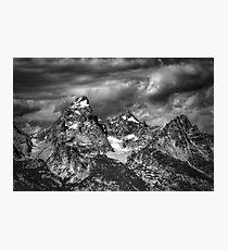 The Tetons Photographic Print