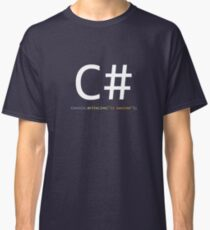C# is awesome - Computer Programming Classic T-Shirt