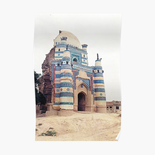 bibi jiwandi tomb Dome broken Poster