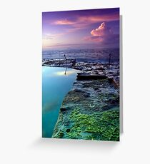 Bogey Hole Sunrise Greeting Card