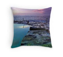 Bogey Hole Sunrise Throw Pillow