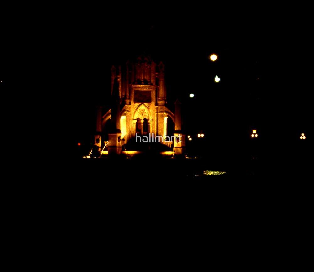 Night scene Riverside Park by hallmant