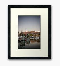 Good Morning Hobart... Framed Print