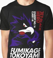 Boku No Hero Academia - Fumikage Tokoyami Graphic T-Shirt