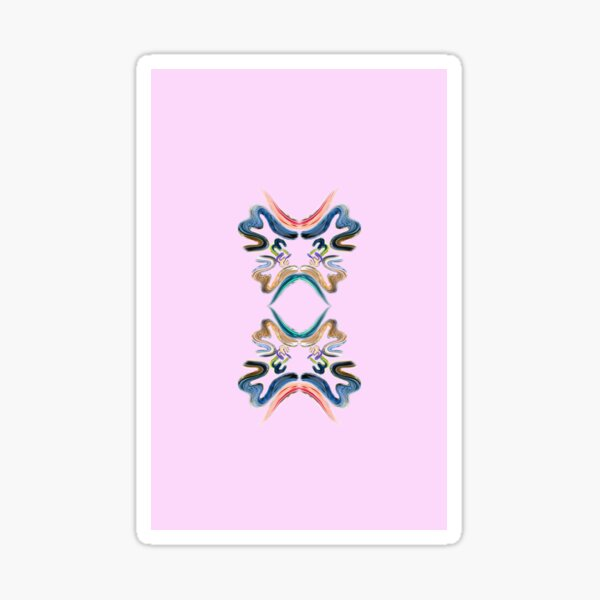 Allah Name Abstract Painting Sticker