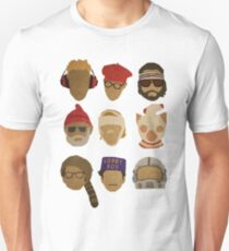 Wes Anderson's Hats Unisex T-Shirt