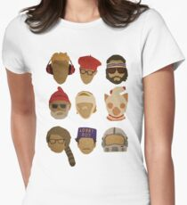 Wes Anderson's Hats Women's Fitted T-Shirt