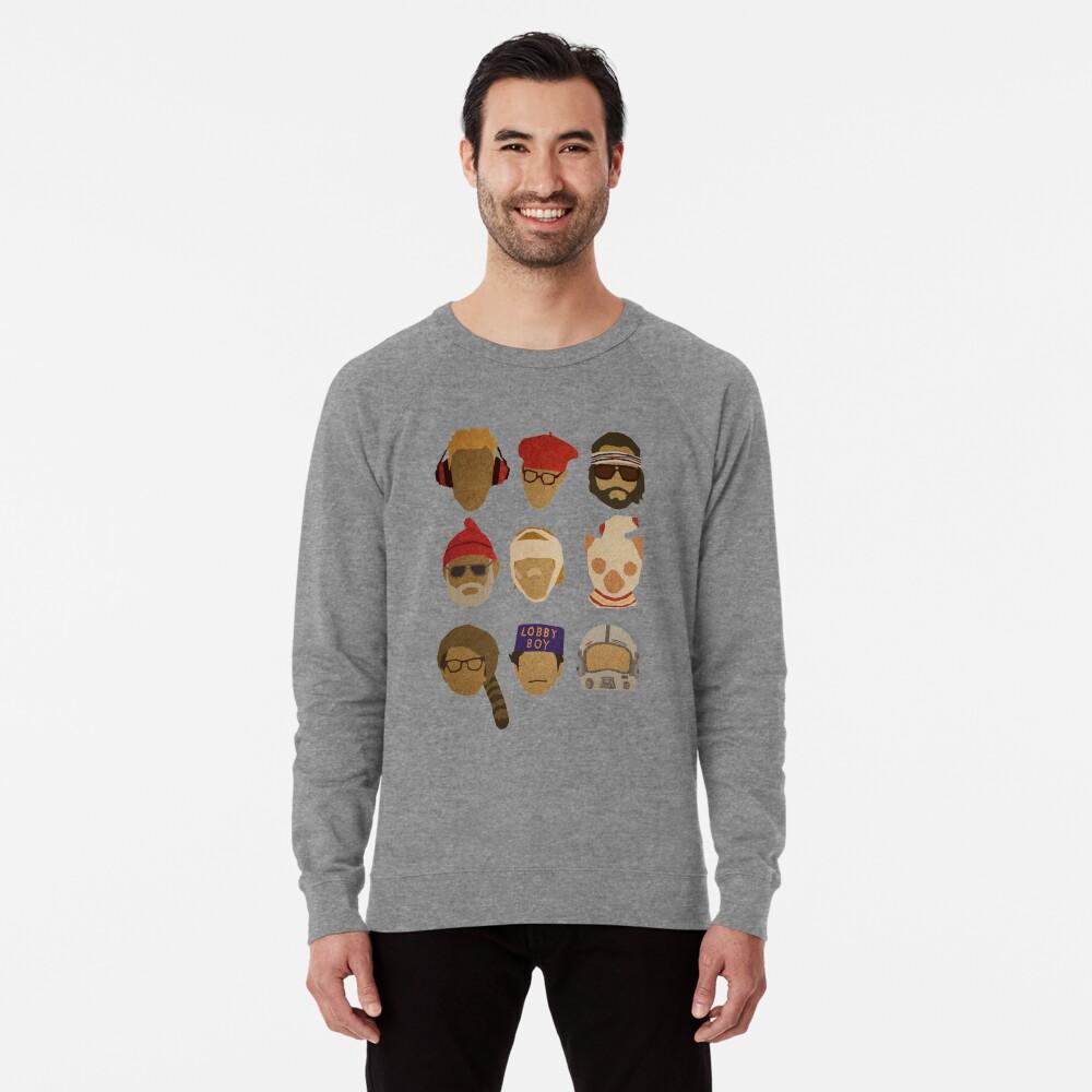 Wes Anderson's Hats Lightweight Sweatshirt