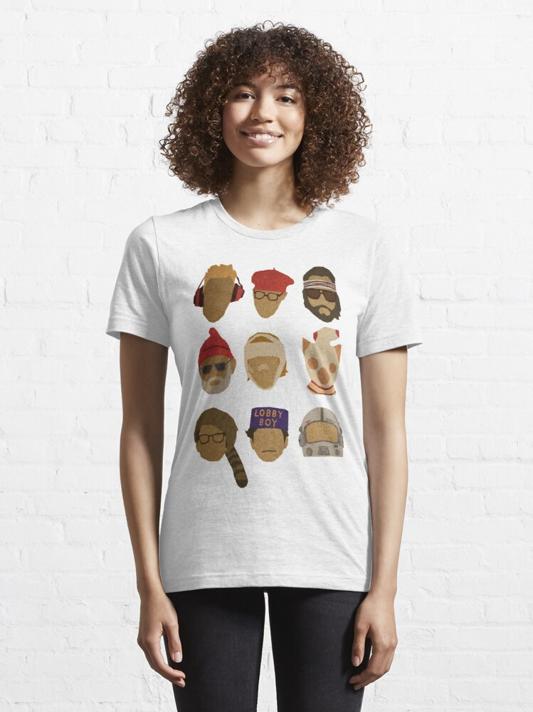 Alternate view of Wes Anderson's Hats Essential T-Shirt