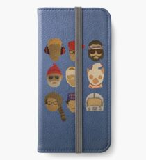 Wes Anderson's Hats iPhone Wallet/Case/Skin