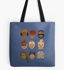 Wes Anderson's Hats Tote Bag