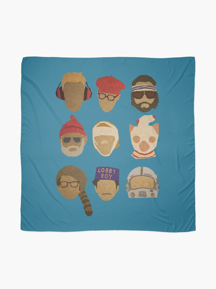 Alternate view of Wes Anderson's Hats Scarf