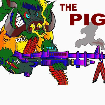The Pig by tandoor