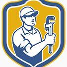«Plumber Holding Wrench» de GoOsiris