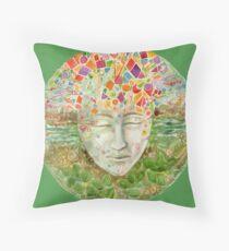 Mandala- meditation Throw Pillow