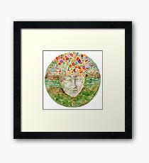 Mandala- meditation Framed Print
