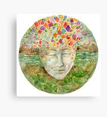 Mandala- meditation Canvas Print
