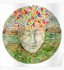 Mandala- meditation Poster