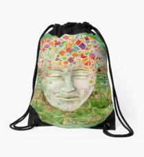 Mandala- meditation Drawstring Bag