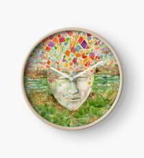 Mandala- meditation Clock