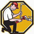 «Plumber Repairing Faucet» de GoOsiris