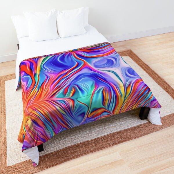 Liquid Flames Comforter