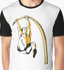 Pole Vaulting Graphic T-Shirt
